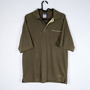 Patagonia Men's Olive Green Polo Size Small